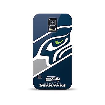Mizco Sports NFL Oversized Snapback TPU Case for Samsung Galaxy S5 (Seattle Seahawks)