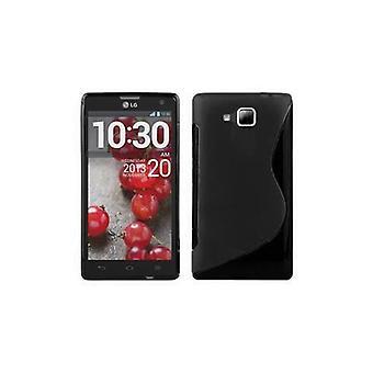 LG OPTIMUS L3(2.Gen)フレキシブルTPUシリコーン電話ケース - カバー - 超スリム用ケース