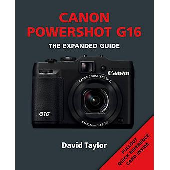 Canon Powershot G16 by David Taylor - 9781781450826 Book