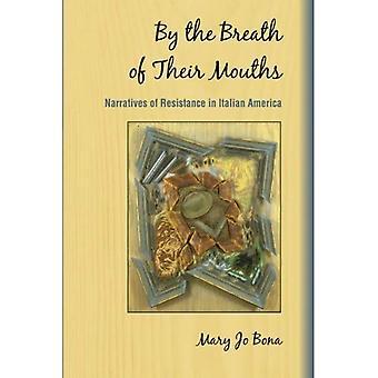 Par le souffle de la bouche (SUNY Series in Culture italo/américain)