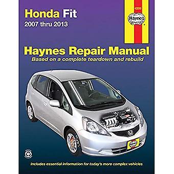 Honda Fit Automotive Repair Manual 2007-13 (Haynes Repair Manual (broché))