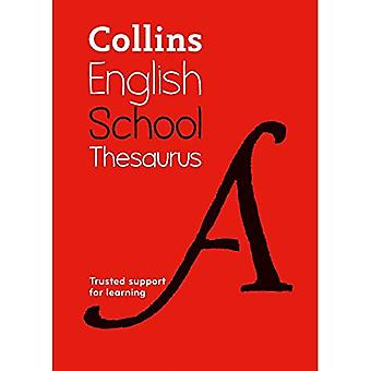 Collins School Thesaurus: Trusted support for learning
