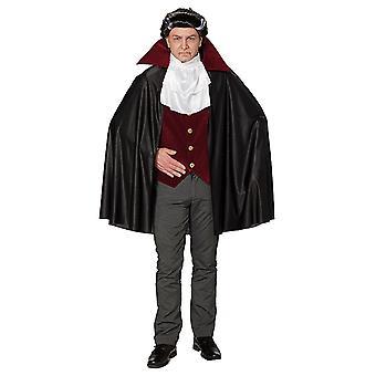 Dracula vampyr overfor Dracula kostyme Halloween kostyme for menn