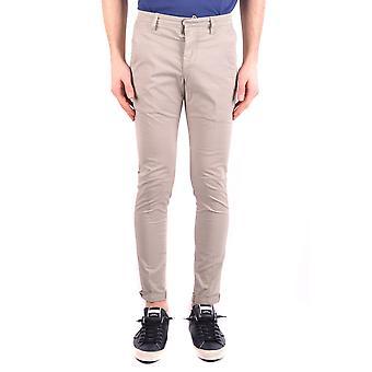Dondup Ezbc051063 Men's Beige Cotton Pants