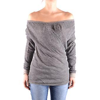 Liu Jo Ezbc086052 Dames's Grey Wool Sweater