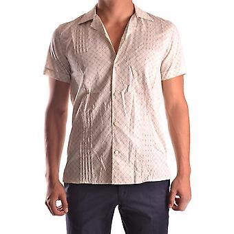 Marc Jacobs Ezbc062015 Men's Beige Cotton Shirt