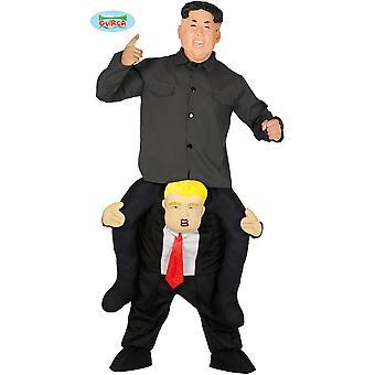Trajes masculinos carregam-me fantasia de Trump