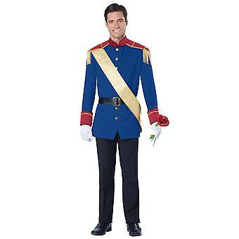 Storybook principe azzurro Royal Fairytale rinascimentale prenotare settimane Mens Costume