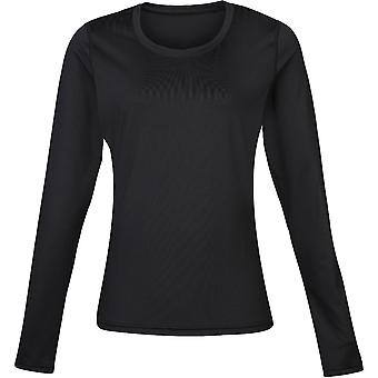 Rinoceronte Womens Lightweight manga longa seca rápida Baselayer Top
