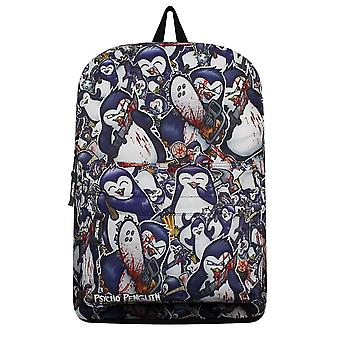 Psycho Penguin Crazy Collage Backpack