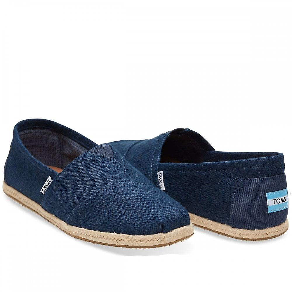 Toms Classic Linen Rope Sole Espadrille