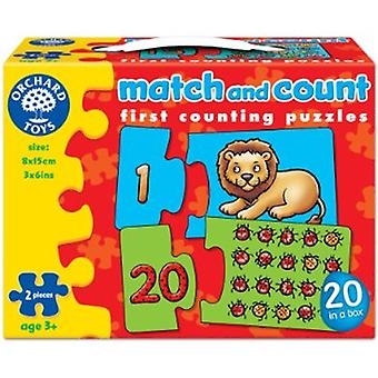 Orchard Toys Match And Count Jigsaw Puzzles