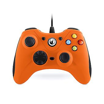 Nacon Wired Compact Gaming Controller PC - Orange
