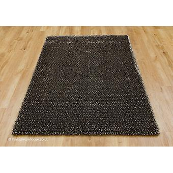 Galaxy Holzkohle Brown Rug