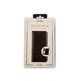 Case-Mate Wallet Folio Case for LG V30 - Black