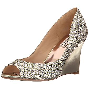 BADGLEY MISCHKA Womens Awake Peep Toe Special Occasion Platform Sandals