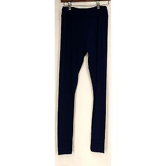Kate & Mallory Leggings Cut & Custom Leggings w/ 3 Hem Choices Blue A428690