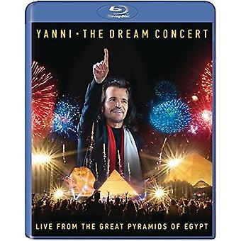 Yanni - Dream Concert: Live From Great Pyramids of Egypt [Blu-ray] USA import
