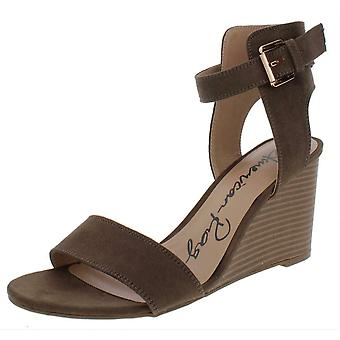 American Rag Womens Aislinn Fabric Open Toe Casual Ankle Strap Sandals