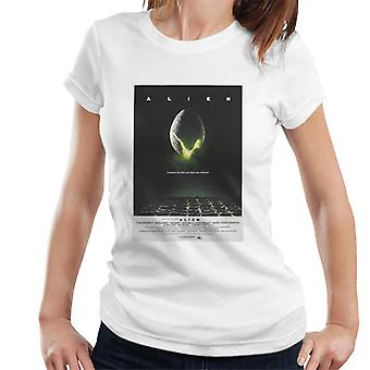 Alien Space Quote Poster Women's T-Shirt