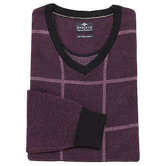 BAILEYS GIORDANO Baileys Purple Or Navy Sweater 8172