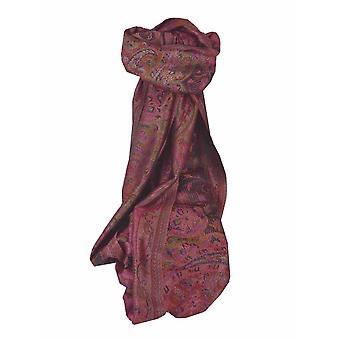 Mens Jamawar Premium Silk Scarf Pattern 6719 by Pashmina & Silk