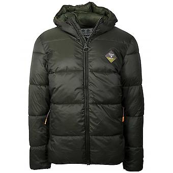 Barbour Beacon Ross Quilt Khaki Fibre-Down Jacket