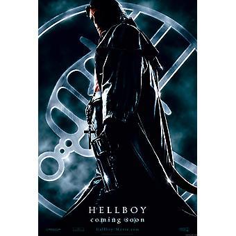 Hellboy (Double Sided Advance) Original Cinema Poster Hellboy (Double Sided Advance) Original Cinema Poster Hellboy (Double Sided Advance) Original Cinema Poster Hellboy