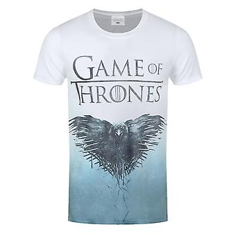 Game Of Thrones Mens Raven All Over Sub T-Shirt