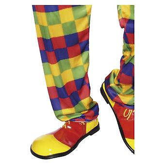 Clown Shoes, Yellow, Deluxe Fancy Dress Accessory