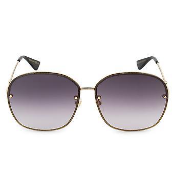 Gucci Oval Sunglasses GG0228S 002 63