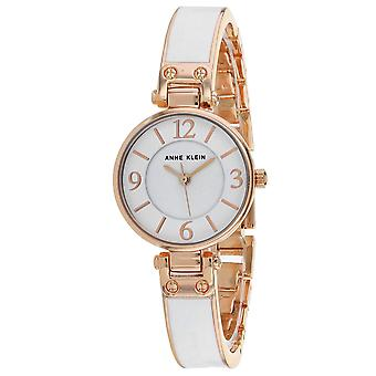 Anne Klein Women's Classic White Dial Watch - AK-2912WTRG