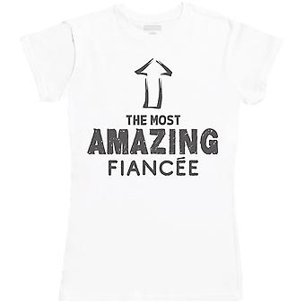 The Most Amazing Fiancee - Womens T- Shirt