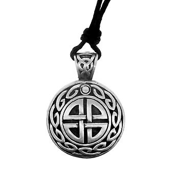 Celtic Eternity Nodo Unisex Pewter Collana pendente - Druidi Nodo