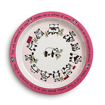 Tyrrell Katz Pandas dizajn melamín tanier