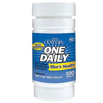 21st century one daily, men's health, tablets, 100 ea