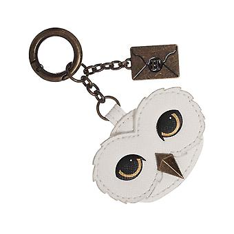 Harry Potter Keyring Hedwig Hogwarts Lettera Smalto Metallo Riempito Charm Ufficiale