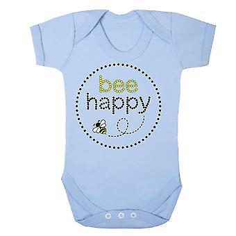 Bee happy babygrow