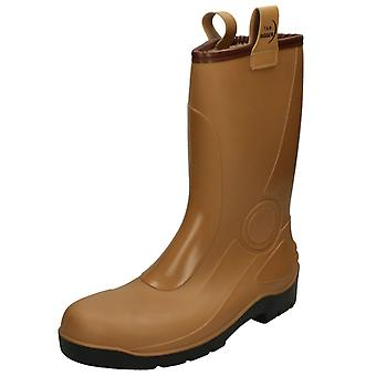 Mens Rigger Steal Toe Cap Safety Boots With Fleece Lining 345-S5