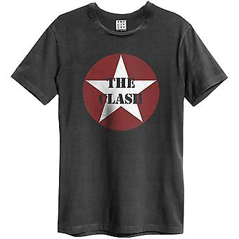 Amplified The Clash - Star Logo T-shirt
