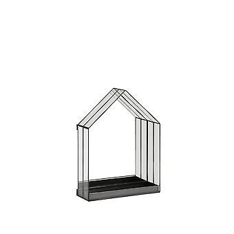 Light & Living Mirror 30x12x45cm Berogy Glass-Black