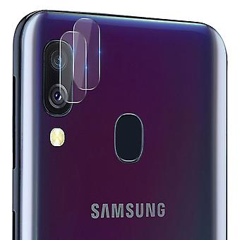 2 Shockproof Protective Camera Lenses for Samsung Galaxy A40- Imak Transparent