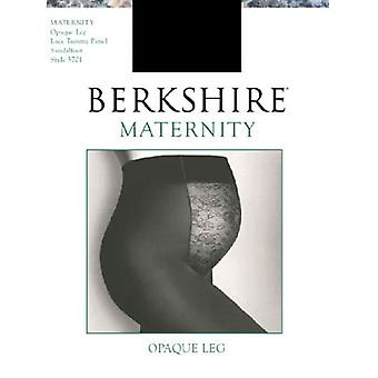 Berkshire Maternity Opaque Pantyhose 5701, Black, Size B