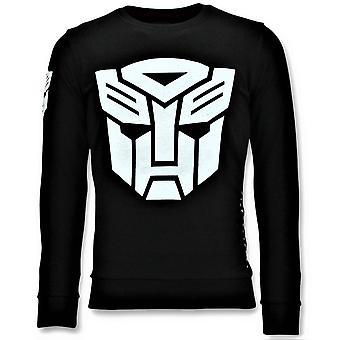 Pusero - Transformers Tulosta - Musta