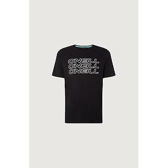O'Neill Men's Camiseta 3PLE negro