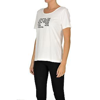 Alexa Chung Ezgl465005 Women's White Cotton T-shirt