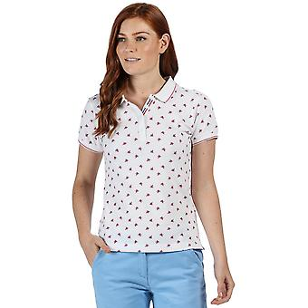 ريجاتا النساء فاين الثاني Coolweave القطن عارضة قميص بولو