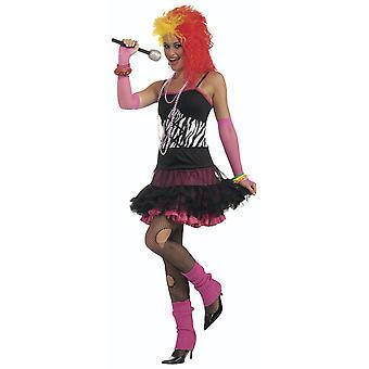Dance Party Princess Cyndi 1980s 80s Punk Rock Disco Women Costume