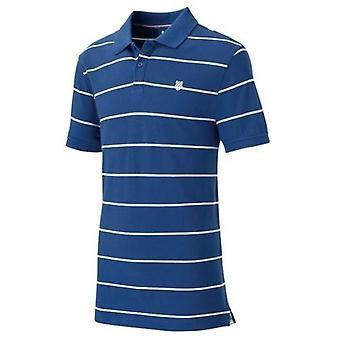 K-Swiss Men's Striped Polo Shirt Small