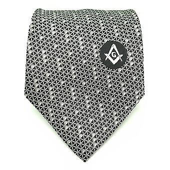 Masonic regalia white freemasons tie